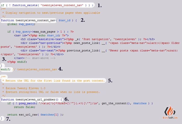 WordPress functions.php fáj szerkesztése - functions-php-szerkeszteshez