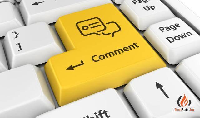 WordPress hozzászólás