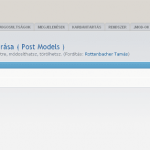 phpBB: Post Models 1.0.4a honosítás - post-models-hun1-150x150