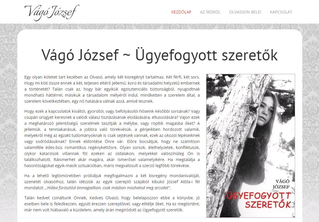 VagoJozsef.hu - vago-jozsef-konyv-kezdolap