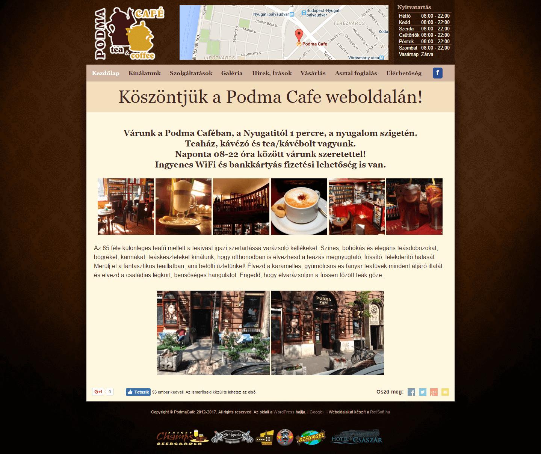 PodmaCafe.hu - podmacafe-kezdolap-rotisoft-pc