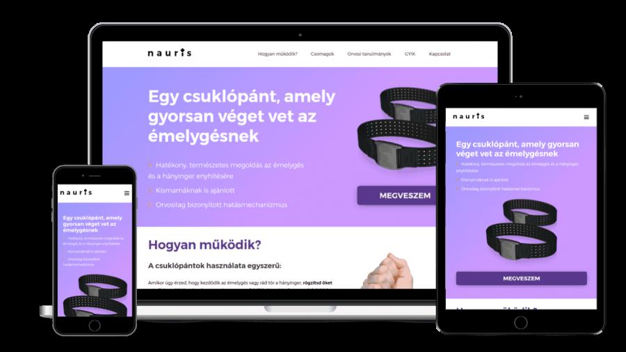 Weboldal és webáruház készítés, keresőoptimalizálás: hatékonyan és eredménnyel - rotisoft-referencia-03-nauris-900x506