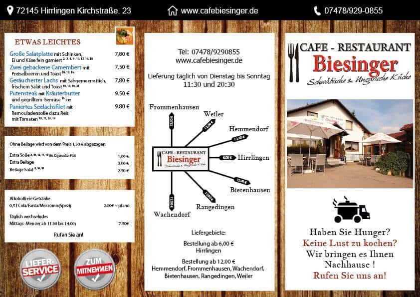 Cafe biesinger szórólap - cafe-biesniger-etlap-a