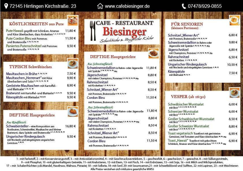 Cafe biesinger szórólap - cafe-biesniger-etlap-b