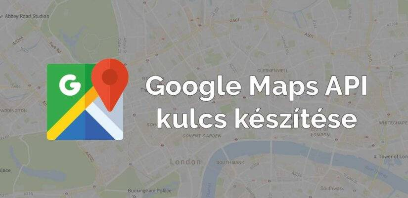 Rotisoft google maps api kulcs keszites