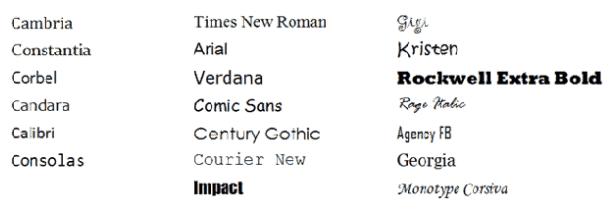 Hogyan válassz jól betűtípust a honlapodra, mikre ügyelj - fonts_study