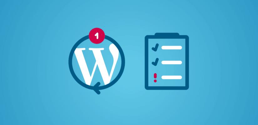 Wordpress frissites nem tunik el rotisoft