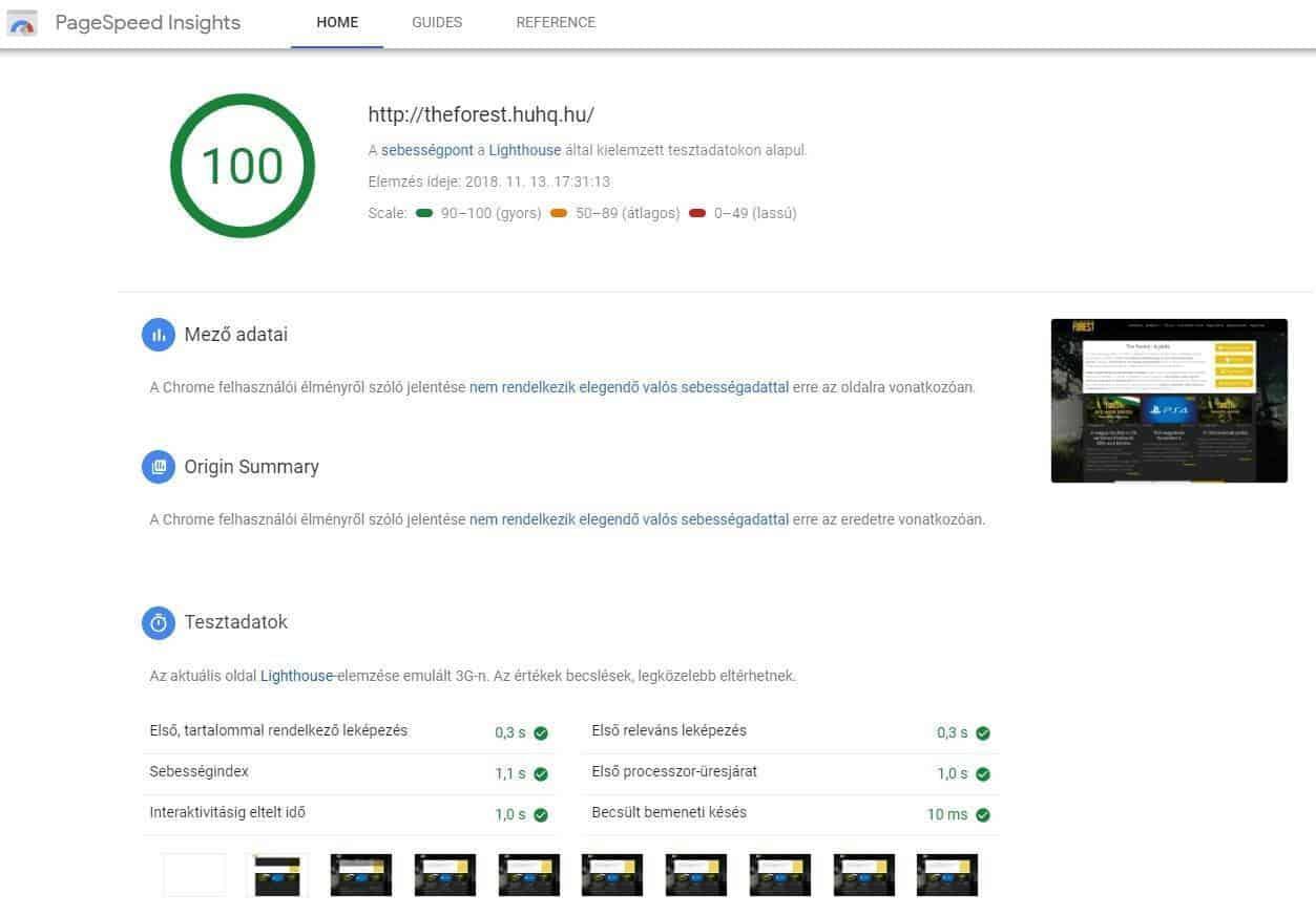 Megújult és bővült a Google sebesség tesztelője, a PageSpeed Insights - pagespeed-insights-google-rotisoft